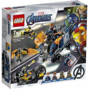 Lego Super Heroes Avenger Truck Take-Down 76143