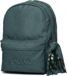 Polo – Original Double Τσάντα Πλάτης Με Μαντήλι Σκούρο Πετρόλ 2020 9-01-235-15 + Δώρο Διορθωτική Ταινία Edding