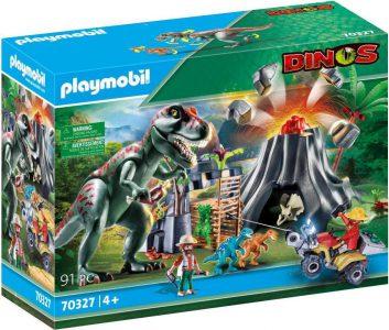 Playmobil Dinos – Ηφαίστειο Με Δεινόσαυρους Και Εξερευνητές 70327