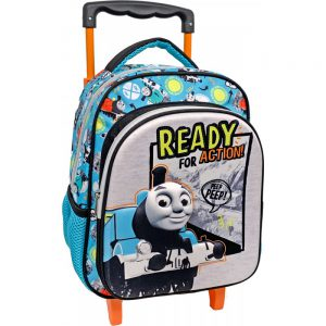 Diakakis Σακίδιο Τρόλεϊ Νηπιαγωγείου 3D Thomas & Friends 570454