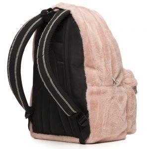 Polo – Τσάντα Πλάτης Kitana Ροζ Γούνινο 2020 9-01-125-48 + Δώρο Διορθωτική Ταινία Edding
