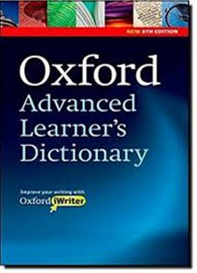 Oxford Advanced Learners Dictionary + CD (8th edition)