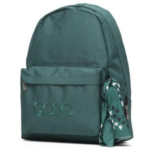Polo – Original Τσάντα Πλάτης Με Μαντήλι Κυπαρισσί 2020 9-01-135-31 + Δώρο Διορθωτική Ταινία Eddin