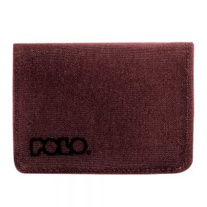 Polo – Πορτοφόλι RFiD Protected Small Wallet Jean Μπορντώ 9-38-013-30