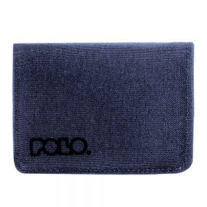 Polo – Πορτοφόλι RFiD Protected Small Wallet Jean Μπλε 9-38-013-05