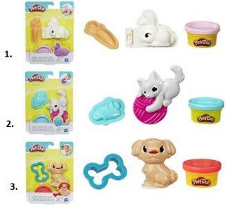 Hasbro – Play-Doh – Pet Mini Tools – 2 Σχέδια E2124