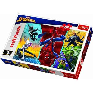 Trefl – Puzzle Spiderman Upside Down 100 Pcs 16347