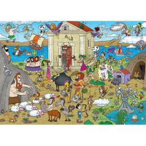 50/50 Games – Puzzle – Ελληνική Μυθολογία 100 Pcs 505316