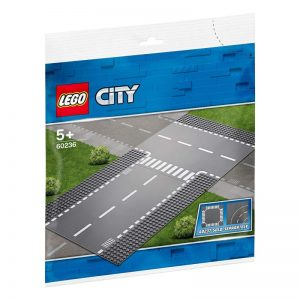 Lego City – Straight And T-Junction 60236