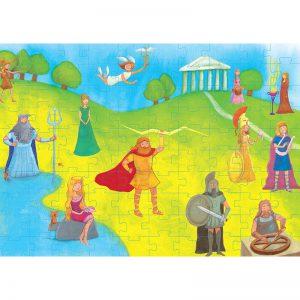 50/50 Games – Puzzle – Θεοί Του Ολύμπου 100 Pcs 505312