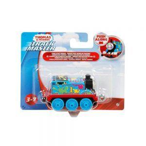 Fisher Price Thomas & Friends – TrackMaster Τρενάκι Paint Splat Thomas GHK64 (GCK93)