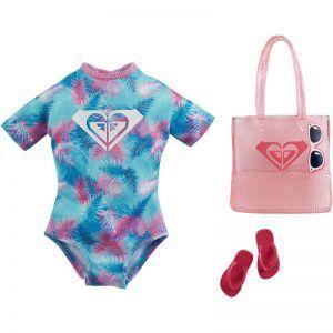 Mattel Barbie – Μοδάτα Σύνολα Διάσημες Μόδες Roxy Tropical Roxy Swimsuit GRD41 (GWB07)