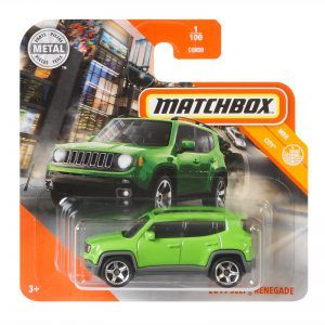 Mattel Matchbox – Αυτοκινητάκι 1:64 2019 Jeep Renegade GKL67 (C0859)