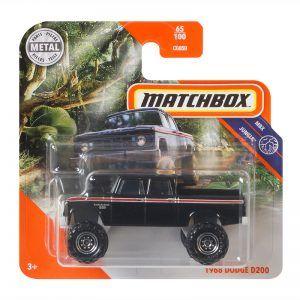 Mattel Matchbox – Αυτοκινητάκι 1:64 1968 Dodge D200 GKL77 (C0859)