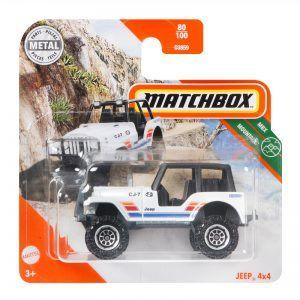 Mattel Matchbox – Αυτοκινητάκι 1:64 Jeep 4×4 GKL98 (C0859)