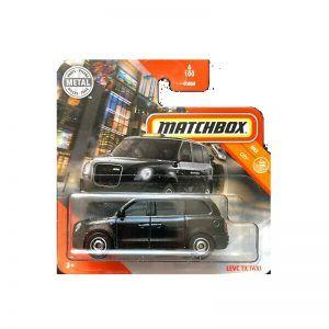Mattel Matchbox – Αυτοκινητάκι 1:64 Levc TX Taxi GKM04 (C0859)