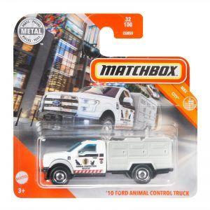 Mattel Matchbox – Αυτοκινητάκι 1:64 '10 Ford Animal Control Truck GKM39 (C0859)