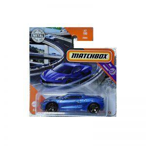 Mattel Matchbox – Αυτοκινητάκι 1:64 2020 Corvette C8 GKM53 (C0859)