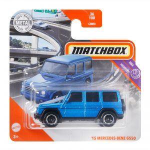 Mattel Matchbox – Αυτοκινητάκι 1:64 '15 Mercedes-Benz G550 GKM55 (C0859)
