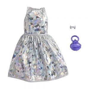 Mattel Barbie – Βραδινά Σύνολα Foil Print Dress GRC02 (GWC27)