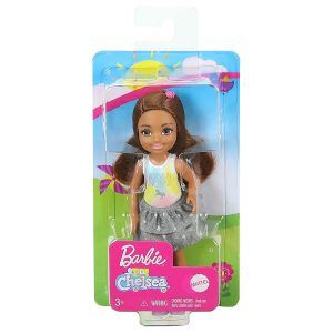 Mattel Barbie Club Chelsea – Μελαχρινή Κούκλα Με Φούστα I Believe In Unicorns GHV63 (DWJ33)