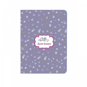 Diakakis – Σημειωματάριο Tesoro Ραφτό Sweet Dreams, Purple A6 40 Φύλλων 52192