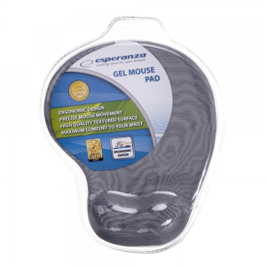 Esperanza – Gel Mouse Pad Wrist Rest, Γκρι EA137Y