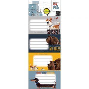 Diakakis – Ετικέτες Αυτοκόλλητες Τετραδίων, Pets 20 Τμχ 504180