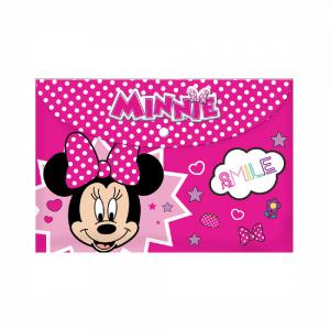 Diakakis – Φάκελος Κουμπί A4, Minnie Smile 562207