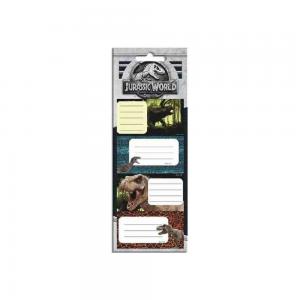 Diakakis – Ετικέτες Αυτοκόλλητες Τετραδίων, Jurassic World 20 Τμχ 570719